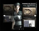 Resident Evil GameCube Character selection lets you play as Jill Valentine of Chris Redfield.