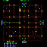 Pepper II Arcade Another maze.