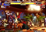 The King of Fighters '96 Arcade Blood hit