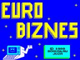 Euro Biznes ZX Spectrum Title screen