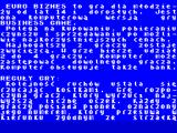 Euro Biznes ZX Spectrum In game instructions