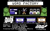 Reader Rabbit Commodore 64 Title screen