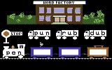 Reader Rabbit Commodore 64 Word train - place the correct words in train carriages
