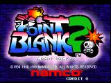 Point Blank 2 Arcade Title Screen.
