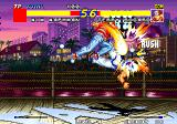 Real Bout Fatal Fury Arcade Huge punch.