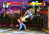 Real Bout Fatal Fury Arcade Flying kick.