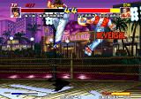 Real Bout Fatal Fury Arcade Fighting in the air.