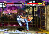 Real Bout Fatal Fury Arcade Got you with a high kick.
