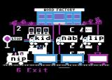 Reader Rabbit Atari 8-bit Word Train - choose the correct words