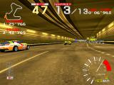 Ridge Racer Arcade Overtaking in the tunnel.