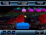 The Invaders: Space Invaders 1500 PlayStation Taking cover (Space Invaders 3D)