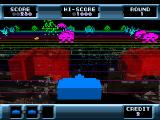 The Invaders: Space Invaders 1500 PlayStation UFO appears (Space Invaders 3D)