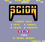 Scion Arcade Title Screen.