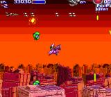 Air Buster Arcade Boss fight 1st phase