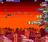 Air Buster Arcade Boss fight 2nd phase