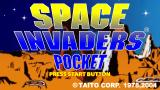 Space Invaders Pocket PSP Title screen