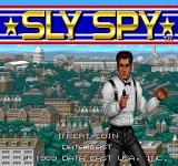 Sly Spy: Secret Agent Arcade Title Screen.
