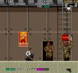 Sly Spy: Secret Agent Arcade Shoot the big guys.