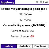 SimCity Palm OS (colour) The people's opinion