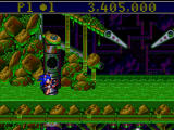 Sonic the Hedgehog: Spinball Windows Swimming on ooze