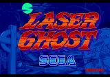 Laser Ghost Arcade Title Screen.