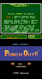 Mike Tyson's Punch-Out!! Arcade Instructions