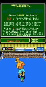 Mike Tyson's Punch-Out!! Arcade Game in progress (attract mode)