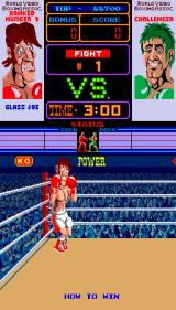 Punch-Out!! Arcade Introducing Glass Joe