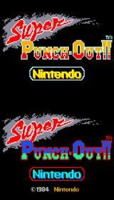 Super Punch-Out!! Arcade Title screen