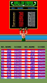 Super Punch-Out!! Arcade Hall of fame