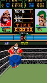Super Punch-Out!! Arcade Introducing Bear Hugger