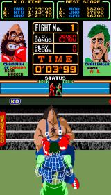 Super Punch-Out!! Arcade Punched him