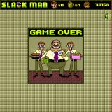 Slack Man Browser Game over