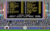 The World's Greatest Baseball Game PC Booter 1985 Team Status on Enhanced Edition (CGA Composite)