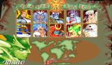 Darkstalkers: The Night Warriors Arcade The character selection