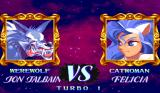 Darkstalkers: The Night Warriors Arcade Wolfman VS Catwoman. Natural enemies, I suppose.
