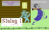 Stalag 1 Commodore 64 Loading screen