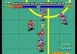 Soccer Brawl Arcade Running with the ball.