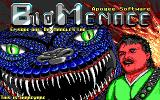 Bio Menace DOS Title screen