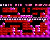 Boulder Dash BBC Micro Reached the exit