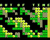 Boulder Dash BBC Micro Out of time