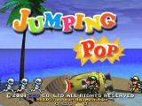 Jumping Pop Arcade Title screen
