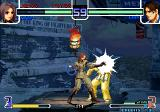 The King of Fighters 2002: Challenge to Ultimate Battle Arcade Explosion after hit? Great:D