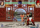 The King of Fighters 2002: Challenge to Ultimate Battle Arcade Low attack