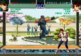 The King of Fighters 2002: Challenge to Ultimate Battle Arcade Clark vs Yuri