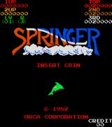 Springer Arcade Title Screen.