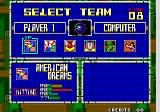 Super Baseball 2020 Arcade Select Team.
