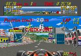 Super Monaco GP Arcade Checkpoint.