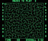 Amazing Maze Arcade Two player game