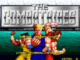 The Combatribes Arcade Title Screen.